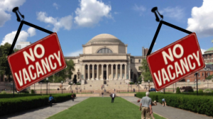 Top schools like Columbia University turned away more applicants this year than ever before.